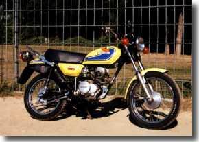 Mopeds: Honda XL50